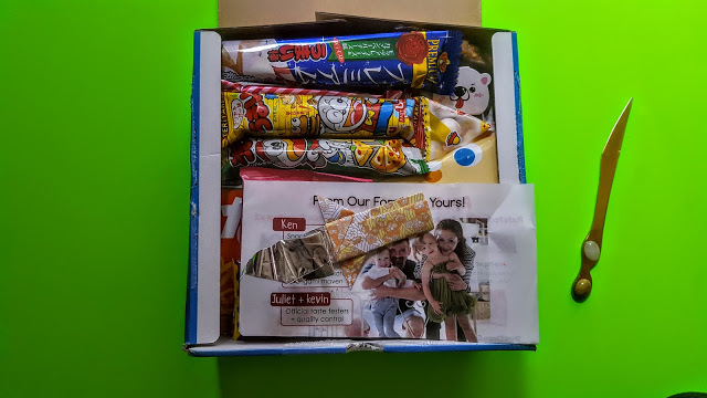 first look in the freedom Japanese market subscription box
