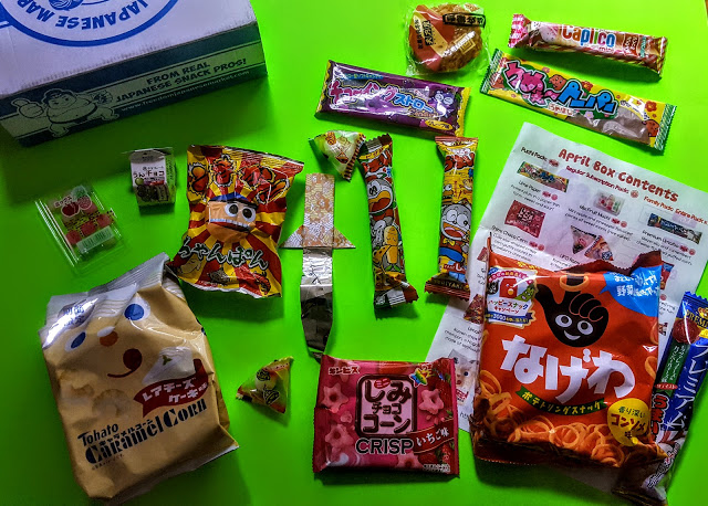 what's in the freedome japanese market box