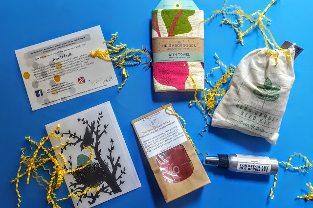 whats in the handmade hive box