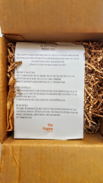 first look in the happy parcel