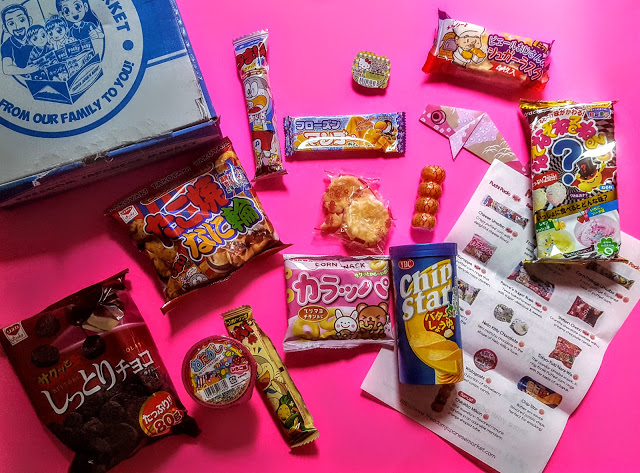 what's in the freedom japanese market box