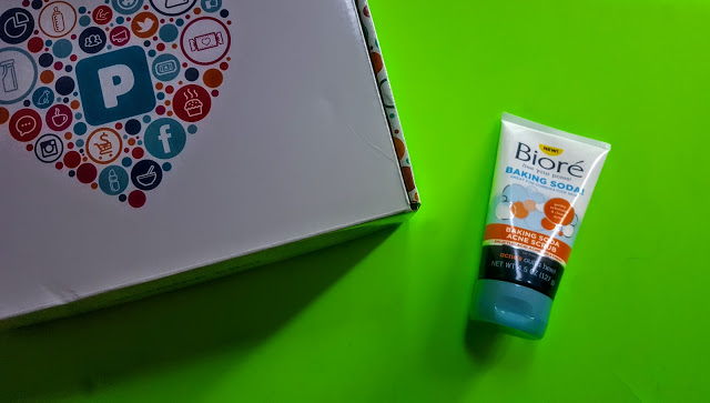 biore baking soda acne scrub