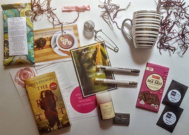 what's in the june pampered period box
