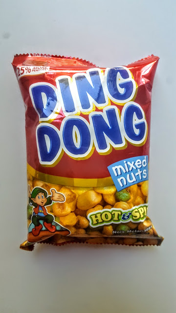 ding dong hot & spicy mixed nuts