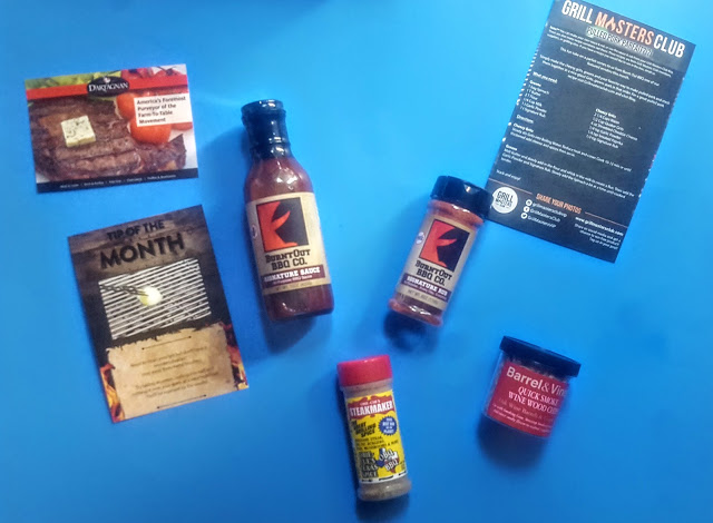 what's in the grill master's club box