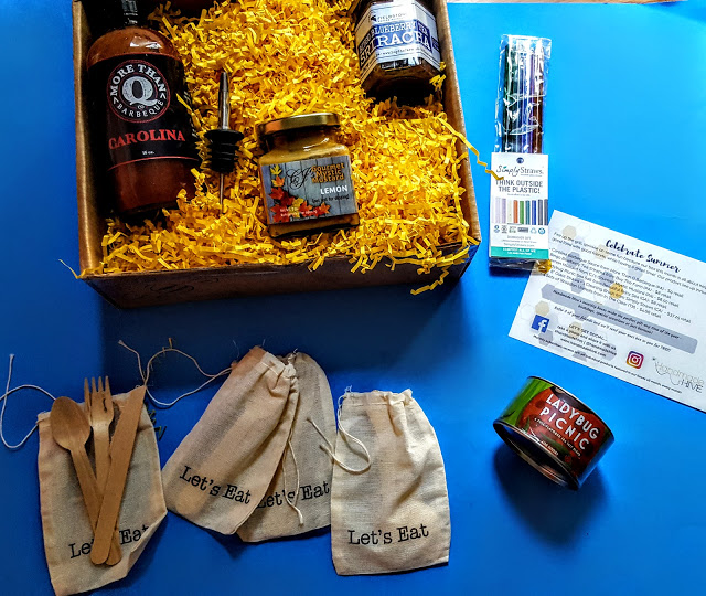 what's in the handmade hive box