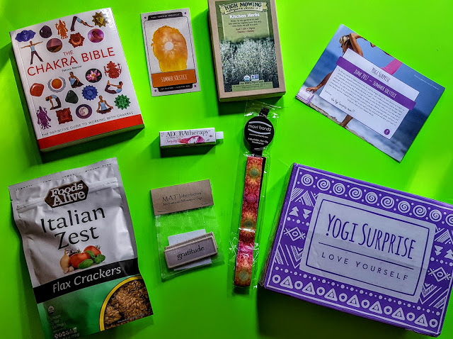 what's in the yogi surprise box