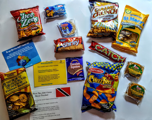 what's in the tasty island crate