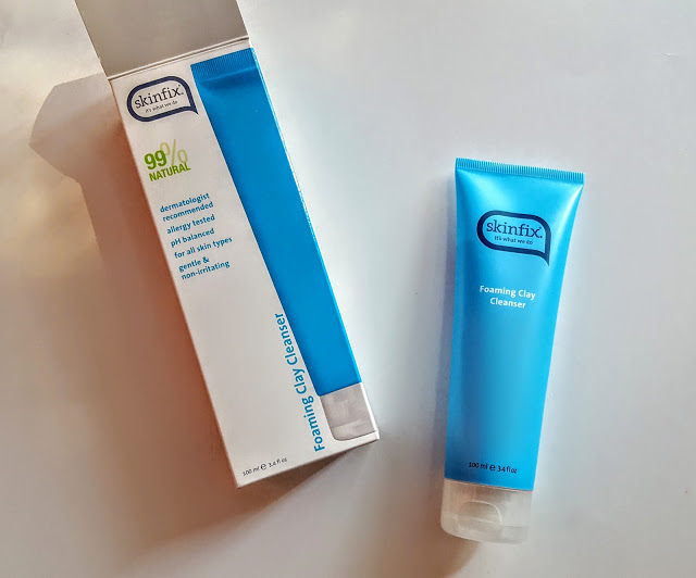 skinfix foaming clay cleanser