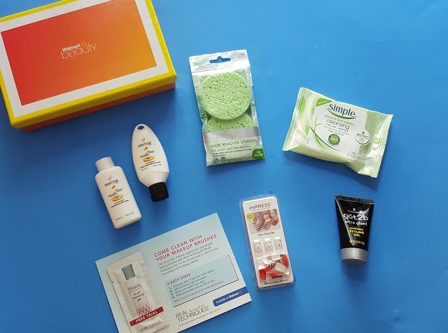 what's in the walmart beauty box for summer