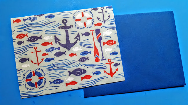 anchors & waves from paper source