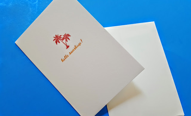 page stationery notecard