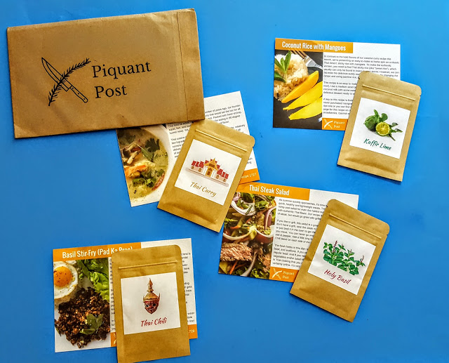 what's in the piquant post subscription