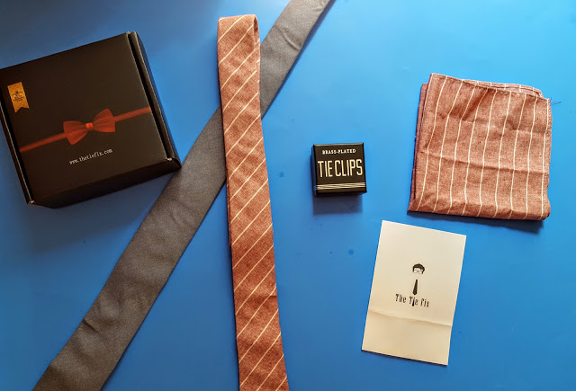 what's in the tie fix box