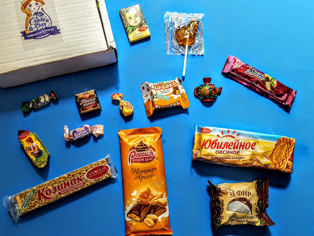 what's in the candy box russia