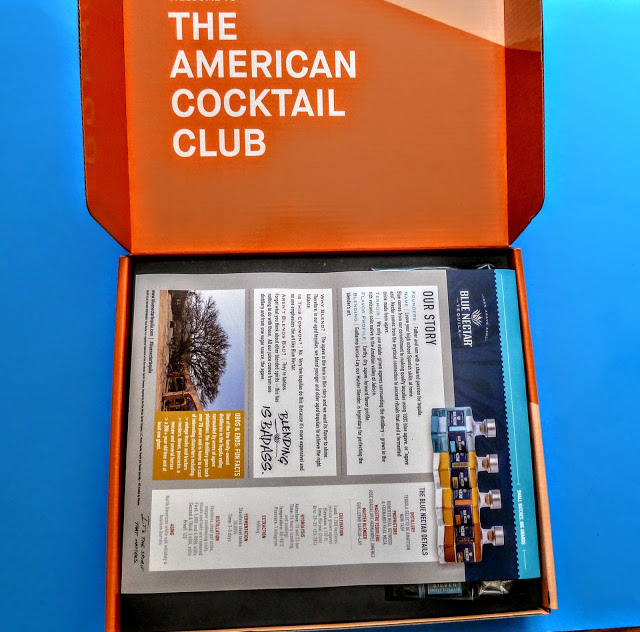 first look in the american cocktail club box