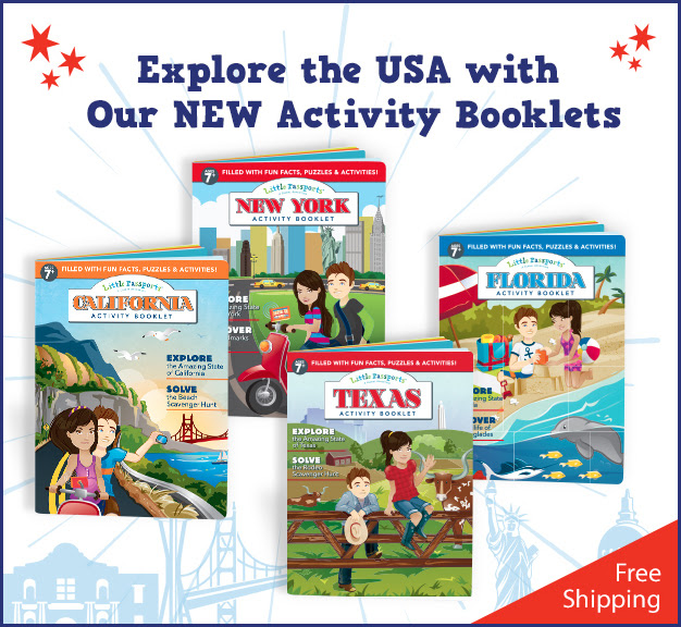 little passports state activity booklets