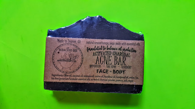 activated charcoal soap bodacious bee