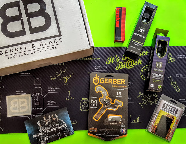 what's in the barrel & blade box