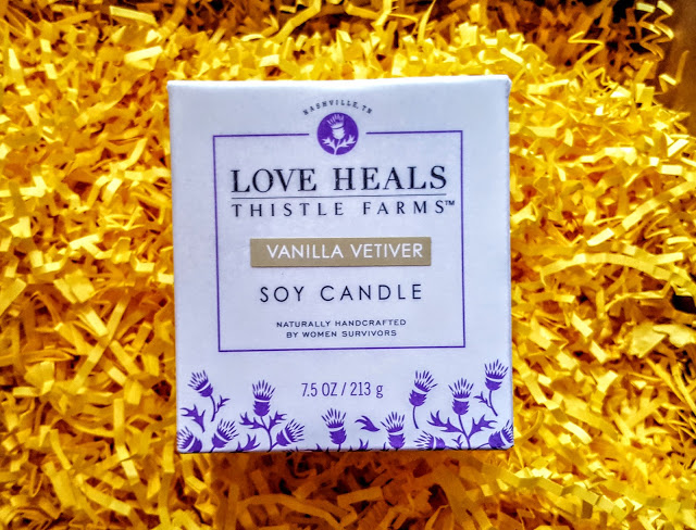 thistle farms soy candle