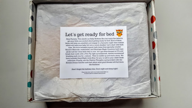 first look in the baby bedtime box