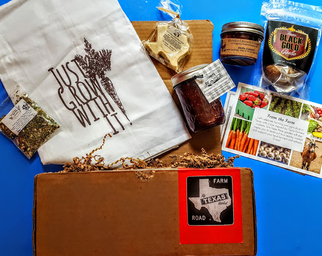 what's in the my texas market box
