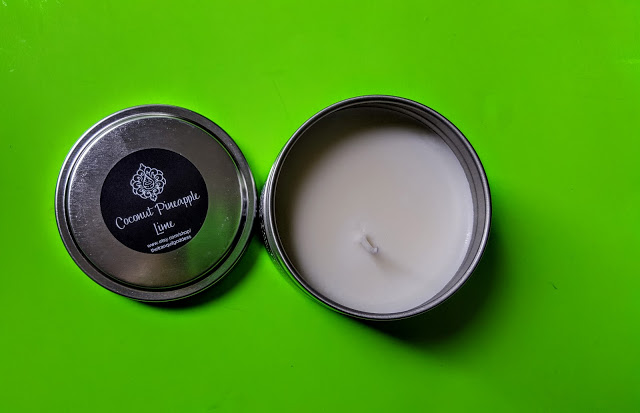 the tranquil goddess candle tin