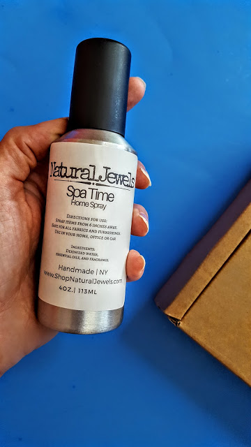 natural jewels spa time room spray