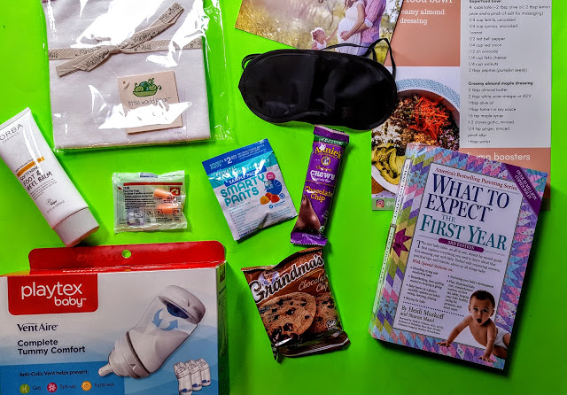 what's in the baby got pack box