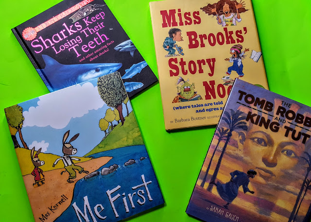 what's in the bookcase club kids box