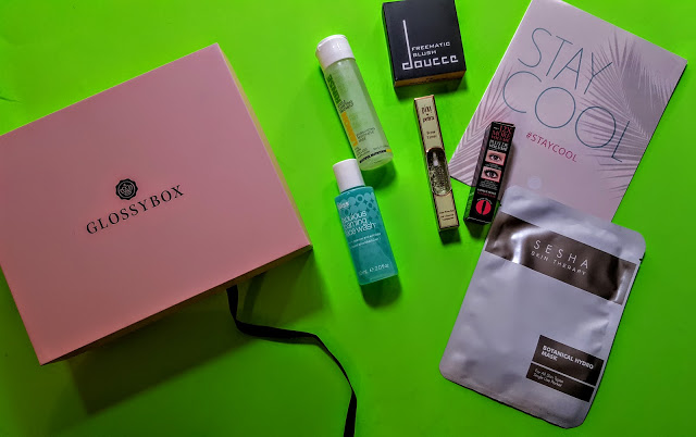 what's in the august glossybox