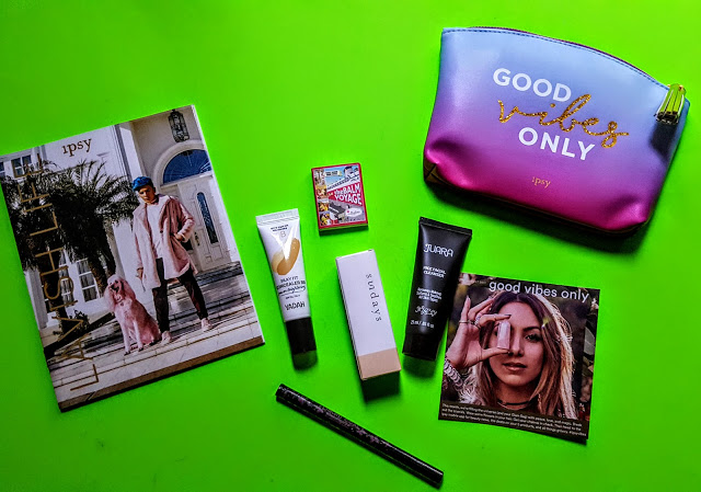 what's in the august ipsy
