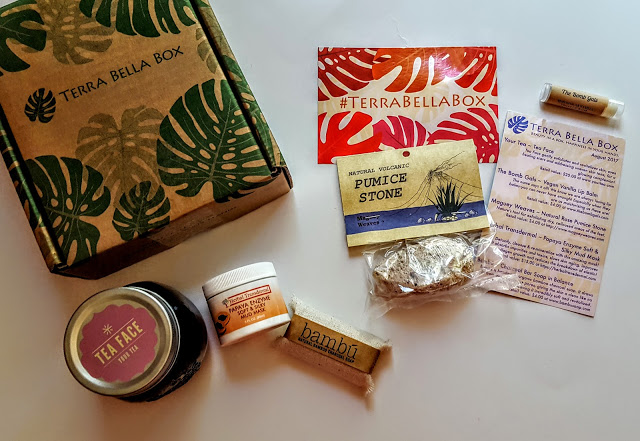 what's in the august terra Bella Box