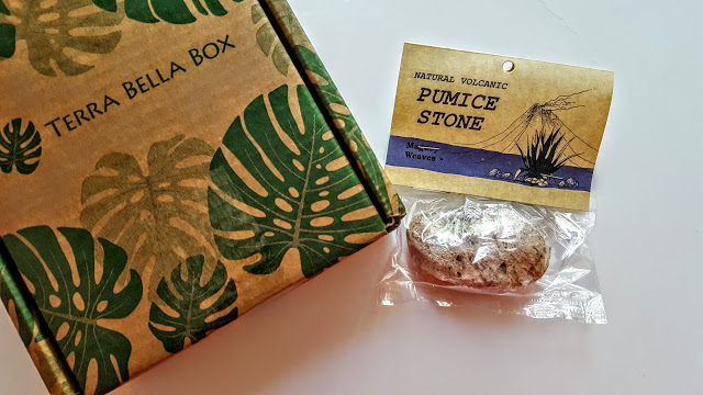 natural rose pumice stone from maguey weaves