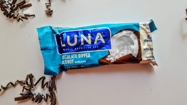 chocolate dipped coconut from luna
