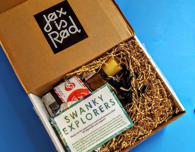 first look in the swanky explorers box