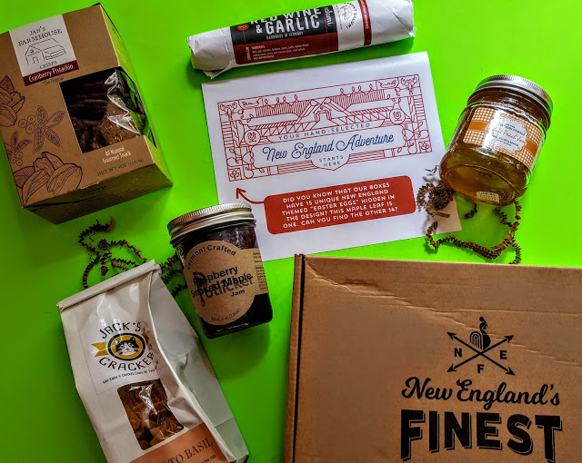 what's in the new england's finest box