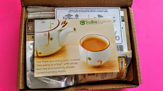 first look in the tea box express box