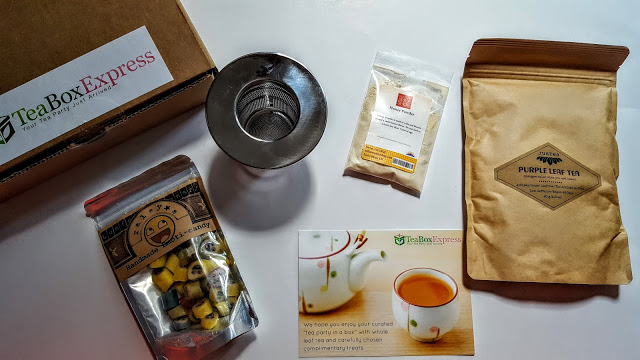 what's in the tea box express subscription