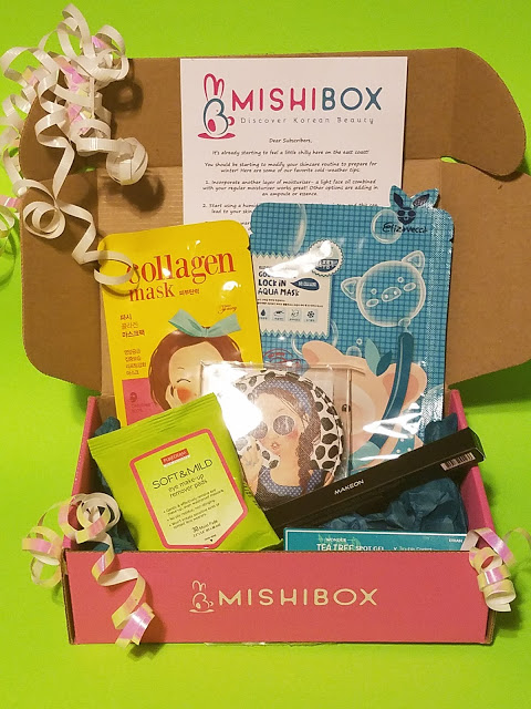 what's in the mishi box