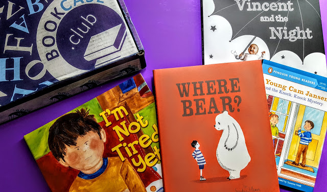 what's in the bookcase club box