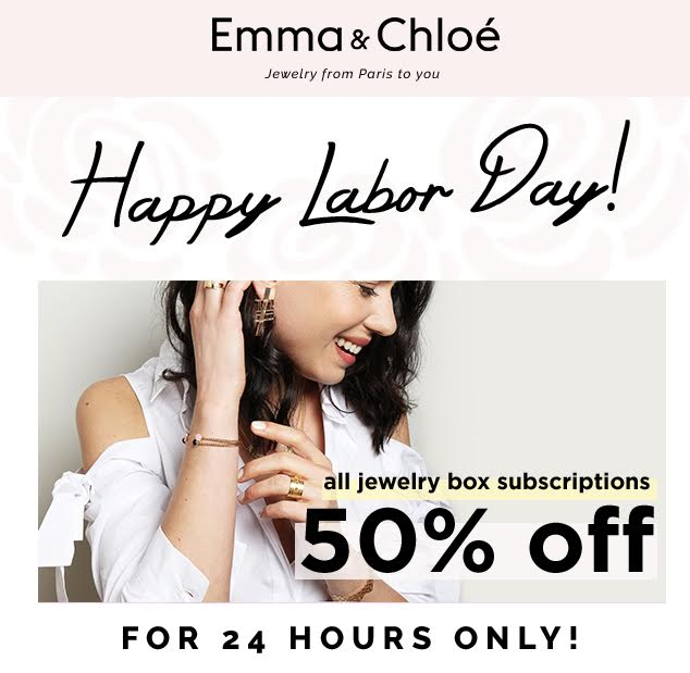 emma and chloe 50% off sale
