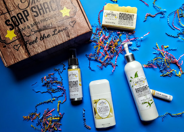 what's in the soap shack box