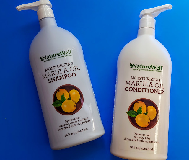 naturewell marula oil shampoo conditioner