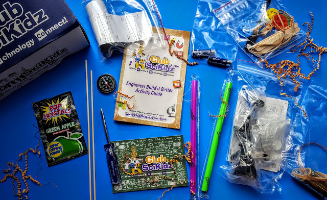 what's in the clubscikidz box