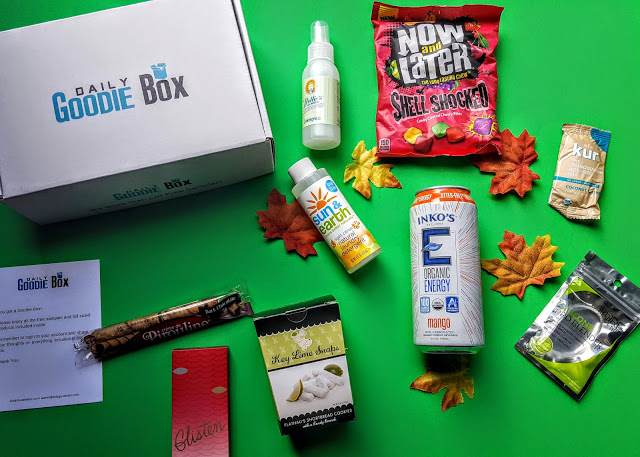 what's in the daily goodie box