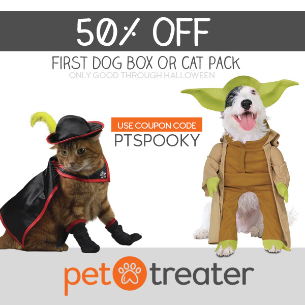 pet treater half off