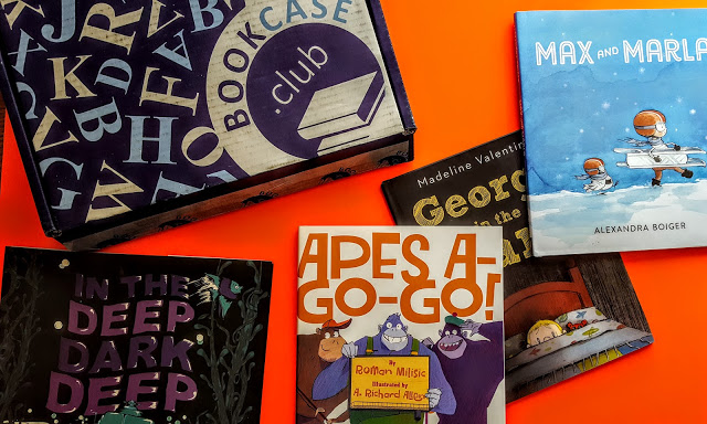 what's in the october bookcase club box