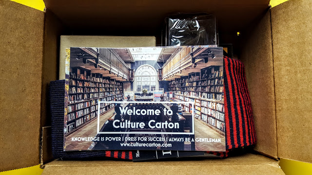 first look in the culture carton box