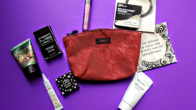 what's in our ipsy glam bag for october
